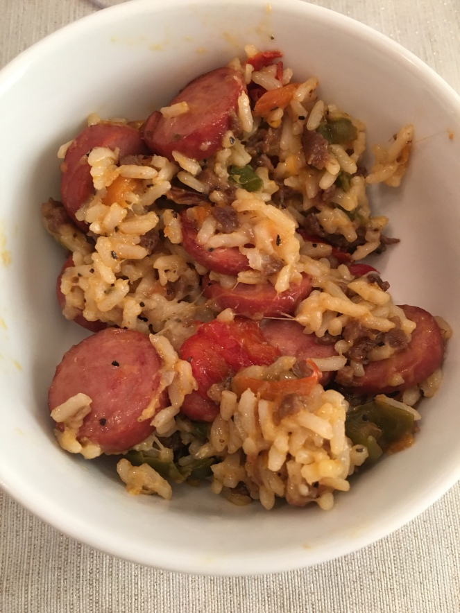 Turkey Sausage and Rice Recipe